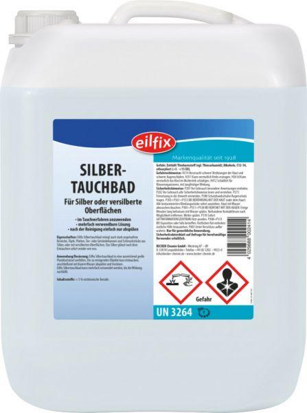 EILFIX Silbertauchbad für Silber oder versilberte Oberflächen