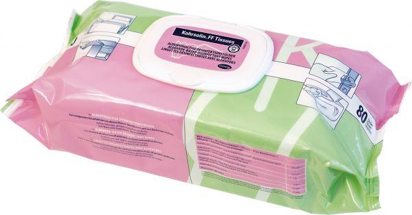Kohrsolin FF Tissues Aldehydhaltige Desinfektionstücher