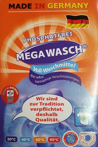 MegaWasch Vollwaschmittel 10 kg phosphatfrei