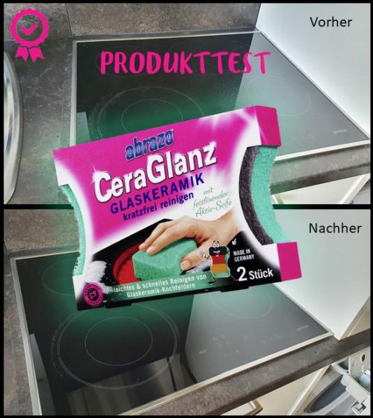 Abrazo CeraGlanz Ceranfeldreiniger - Produkttest img