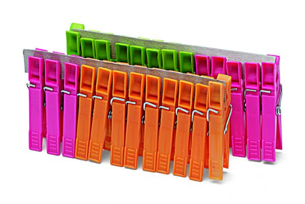 Wäscheklammern Kunststoff 25er Pack