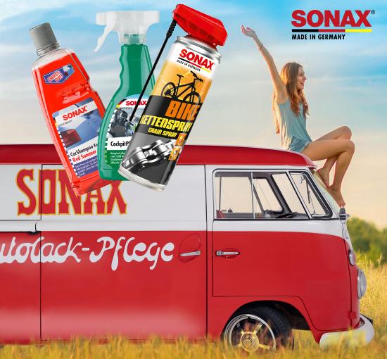 SONAX Produkte jetzt auch auf mundizio.de