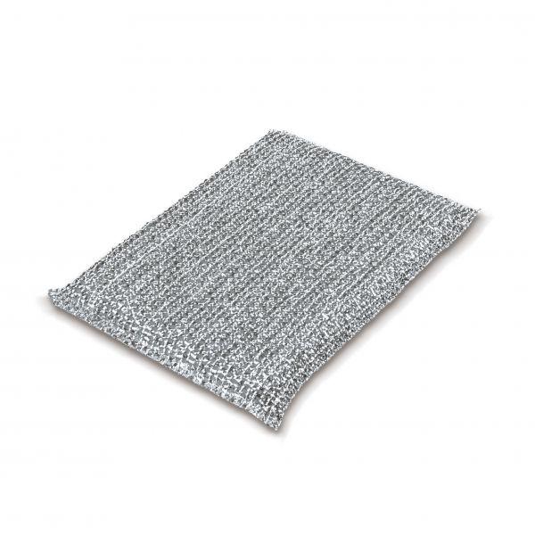 Sito Reinigungskissen Lurex Silber 130 x 90 mm