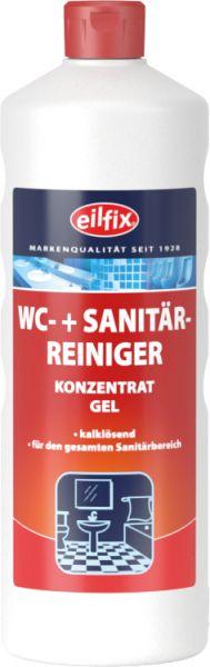 EILFIX WC + SANITÄRREINIGER (WC-Rot) Konzentrat Gel