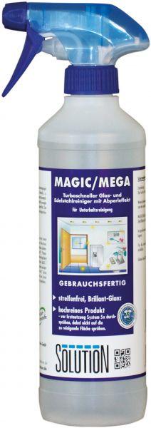 Solution MAGIC/MEGA Glas- und Edelstahlreiniger