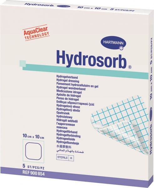 Hydrosorb Transparente Hydrozellulärer Gel-Verband