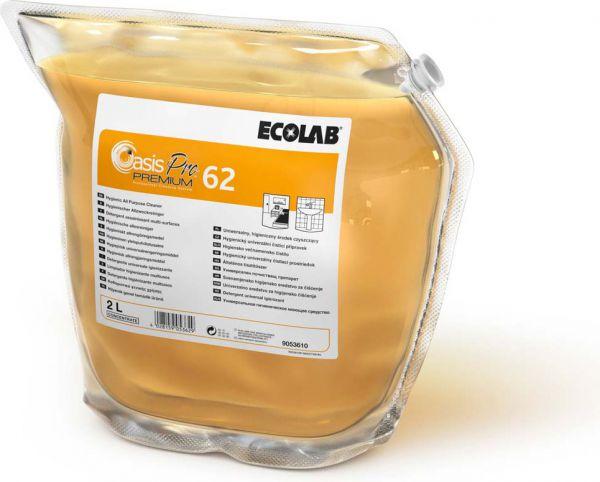 ECOLAB Oasis Pro 62 Premium hygienischer Allzweckreiniger gegen Seifenrückstände