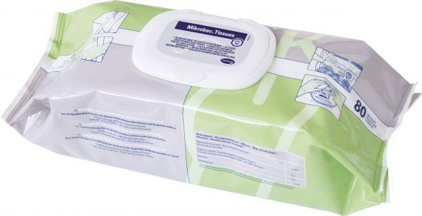 Mikrobac Tissues Schnelldesinfektionstücher