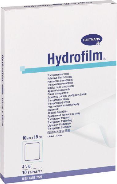 Hydrofilm Transparentverband für sicheren Wundschutz