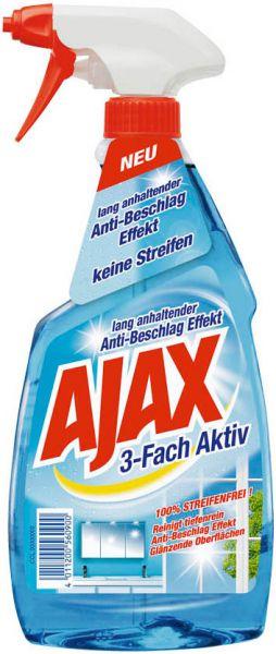 Ajax Glas-/Flächenrein 3-fach-aktiv