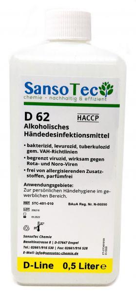 Sansotec Händedesinfektionsmittel 500 ml