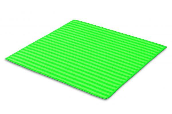 Microfaser Borstentuch 2in1 Funktion Grün