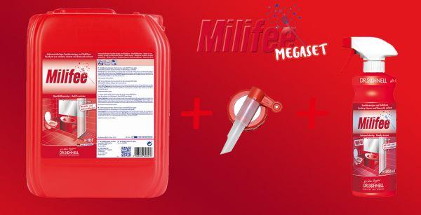 Dr. Schnell Milifee Megaset - Sanitärreiniger