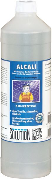 Solution Alcali Steinbodenreiniger