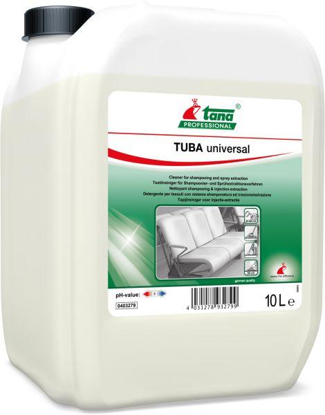 TANA tuba universal Teppichreiniger für Sprühextraktionen und Shampoonierung