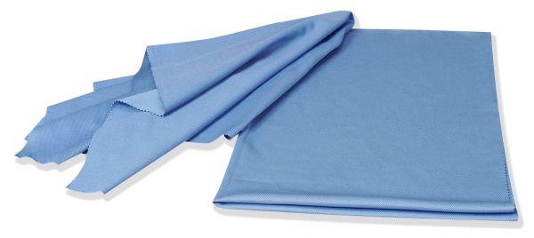 floorstar Mikrofaser-Gläser-Poliertuch FILIGRAN blau