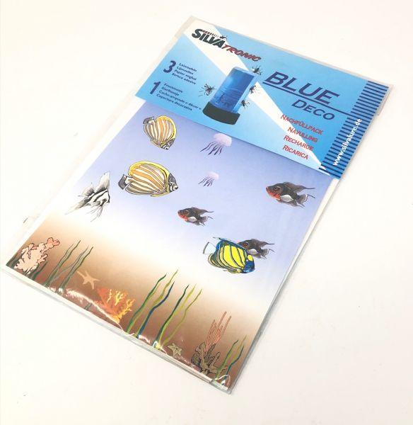 Silva Tronic Blue Insektenfalle-Folie Nachfüllpack, 3 Stk
