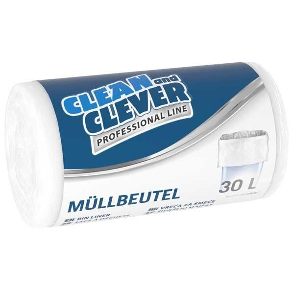 Müllbeutel 30 Liter PRO73 Clean and Clever
