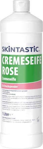 Skintastic CREMESEIFE ROSÉ Cremeseife für Druckspender