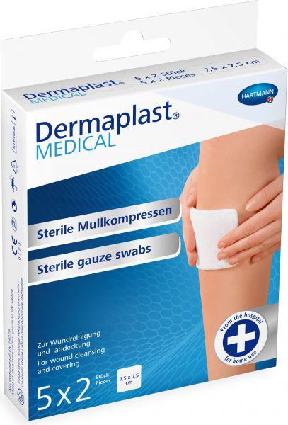 Dermaplast MEDICAL sterile Mullkompressen