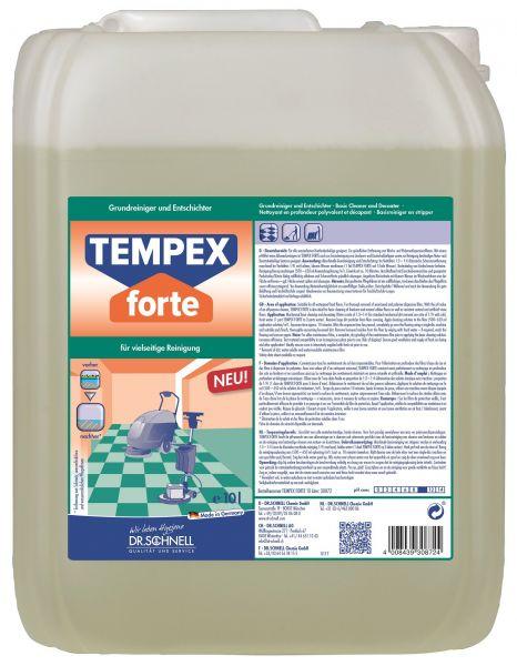 Dr. Schnell Tempex Forte, Grundreiniger 10 Liter