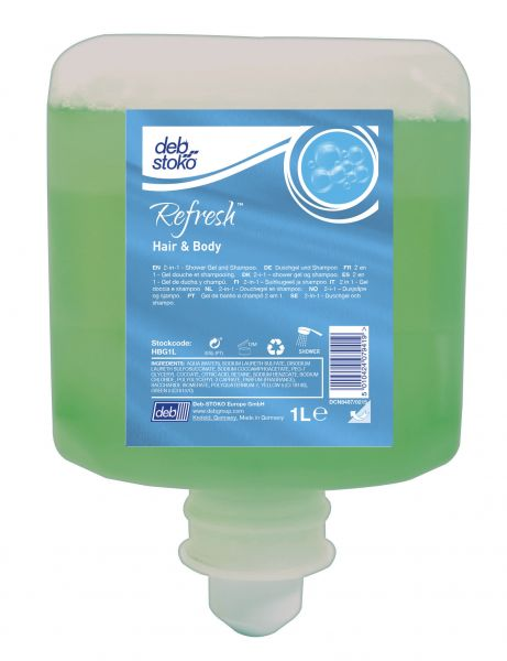 Refresh Hair & Body Duschgel und Shampoo