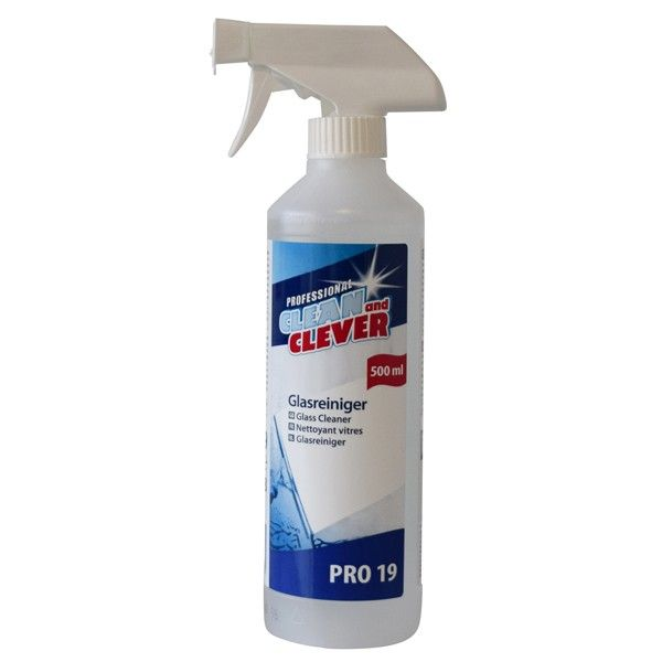 Glasreiniger PRO19 Clean and Clever