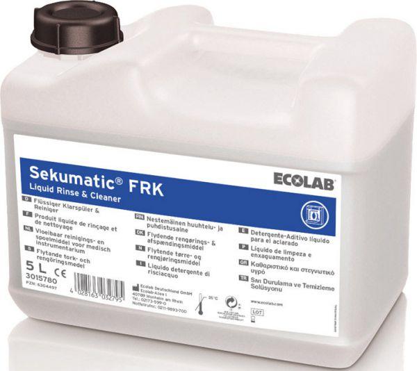 ECOLAB Sekumatic FRK Spezielles Reinigungs- und Klarspülmittel