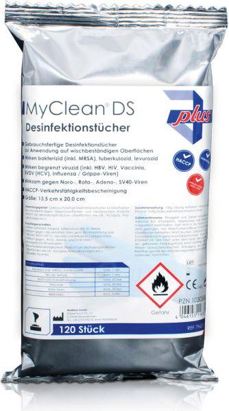 MyClean DS Flächen-Desinfektionstücher