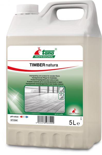 TANA timber natura Imprägnierende Pflege für Echtholzböden mit Öleffekt
