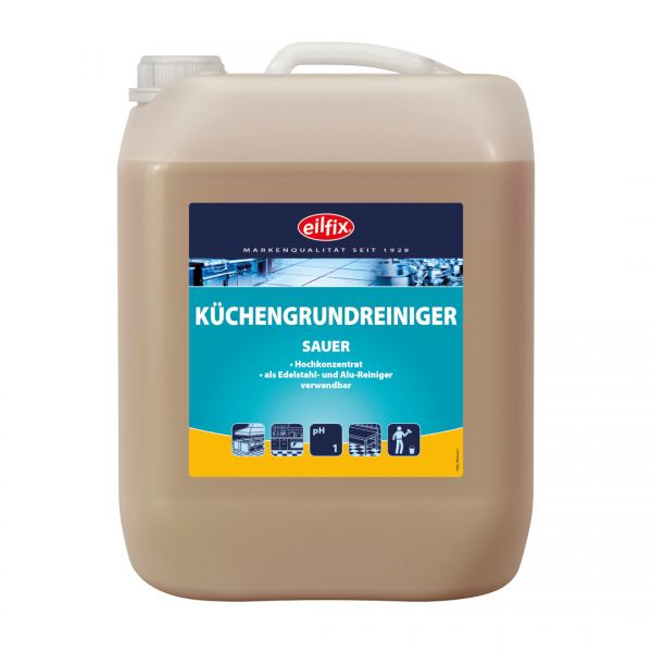 Eilfix Küchengrundreiniger sauer 5 Liter Kanister