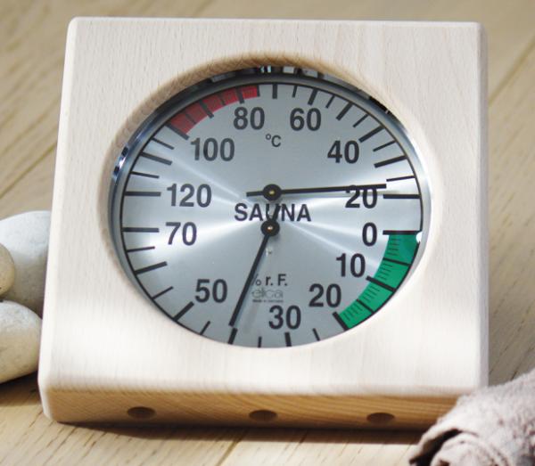 Sauna Klimamesser / Hygrometer / Thermometer
