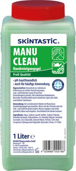 EILFIX MANU CLEAN HANDREINIGUNGS-GEL mit mikrofeinen Reibekörpern