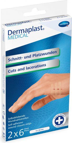 Dermaplast MEDICAL Wundpflaster für Schnitt- und Platzwunden
