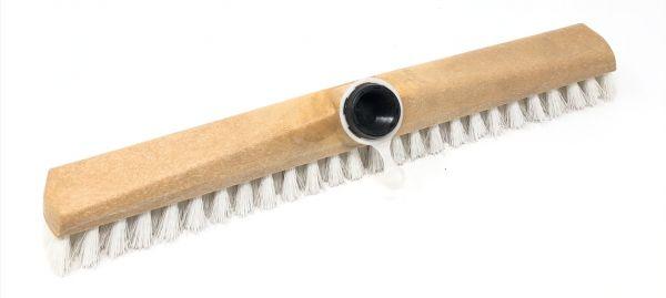 Nölle Schrubber/Wischer mit Kunststoffgewinde 40 cm,weiß