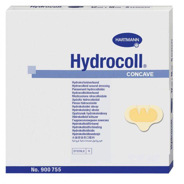 Hydrocoll concave schnell saugnede Wundauflage
