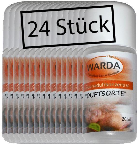 Warda Sauna Adventskalenderfüllung 24 x 20 ml