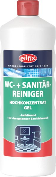 EILFIX WC + SANITÄRREINIGER (WC-Grün) Hochkonzentrat Gel