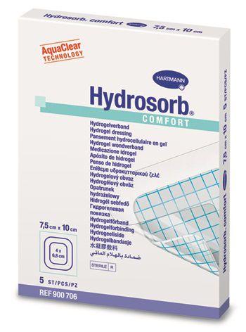 Hydrosorb comfort Transparente Hydrozellulärer Gel-Verband