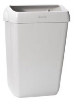 Katrin Abfallbehälter grau 50 Liter, mit Hängsystem, B - Ware