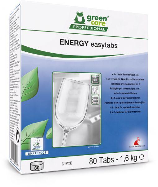 TANA energy easytabs 4 in 1 Tabs für Geschirrspülmaschinen