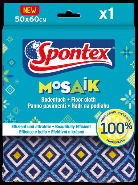 Spontex Bodentuch Mosaik