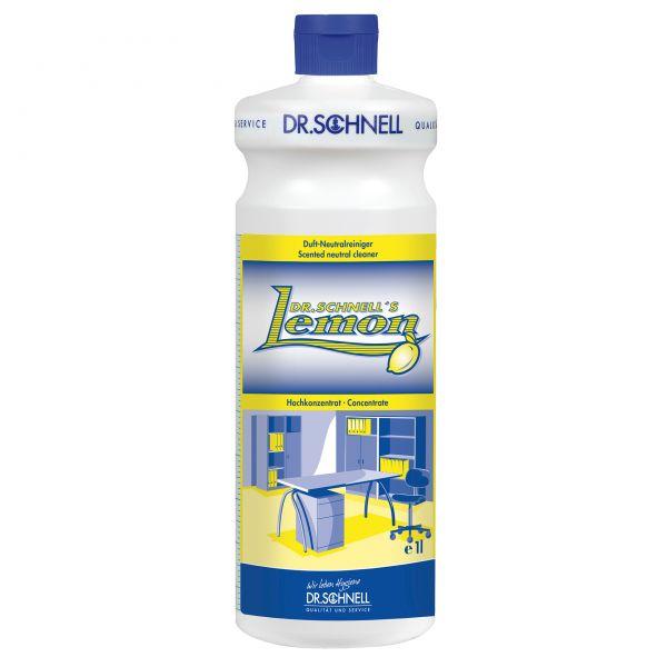 Dr. Schnell Lemon Duft-Neutralreiniger