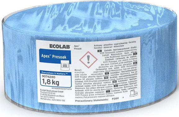 Ecolab Apex Presoak Tauchreiniger, Besteck Tauchreiniger