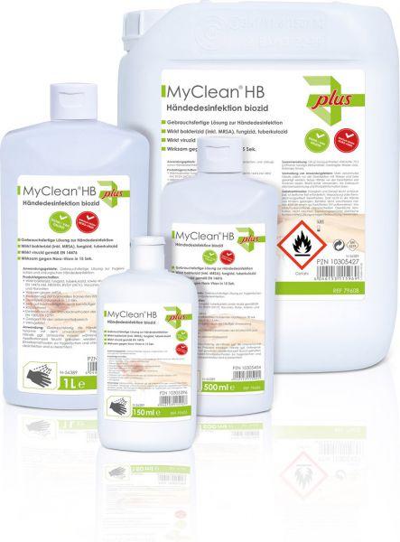 MaiMed MyClean HB Händedesinfektion biozid