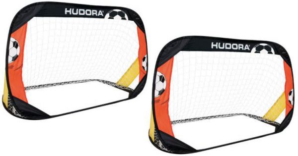 HUDORA Pop-Up Fussballtore 2er Set