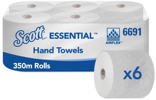 Scott® ESSENTIAL™ Handtücher - Rolle / Weiß