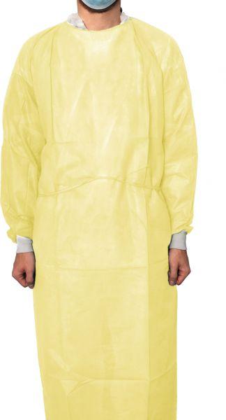 MaiMed Protect Coat ViruGuard Isolations-Schutzkittel gelb