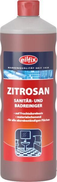 EILFIX ZITROSAN Sanitär- und Badreiniger