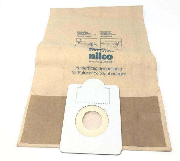 Fakir/Nilco Papierfilter Staubsaugerbeutel 15 Stk